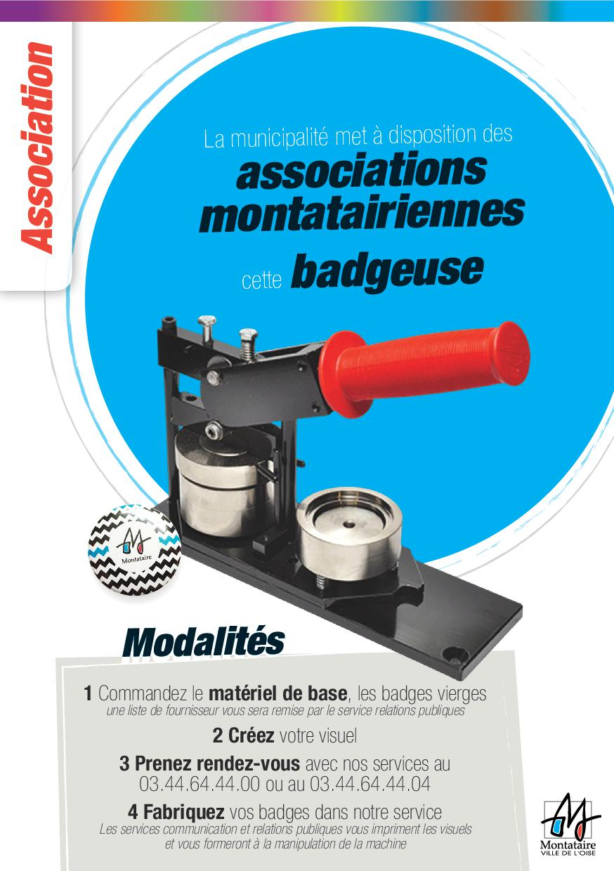 badgeuse asso montataire  2016